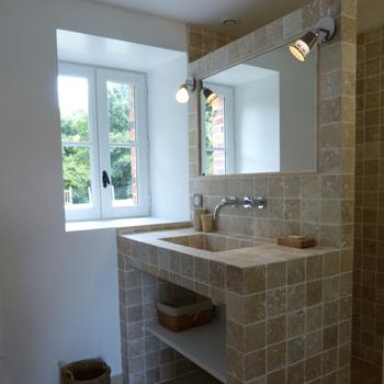 La salle de bain du rez de chaussée